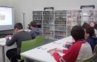 Obisk knjižnice v Pivki